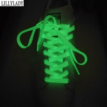 1pair 120cm Sport Luminous Shoelace Glow In The Dark Night Color Fluorescent Shoelace Casual Athletic Shoe Laces For Shoes 1 pair 100cm luminous shoelace athletic sport reflective runner shoe laces sneakers shoelace for sport basketball canvas shoes