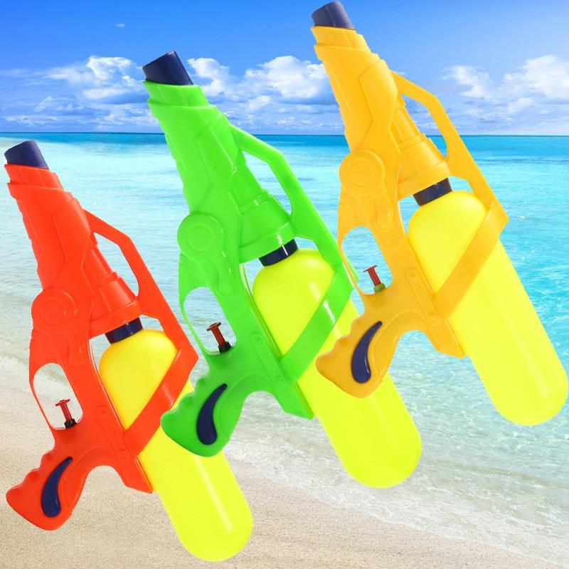 1PC Children Holiday Fashion New Blaster Water Gun Toy Kids Colorful Beach Squirt Toy Pistol SprayWater Gun Toys Outdoor Games