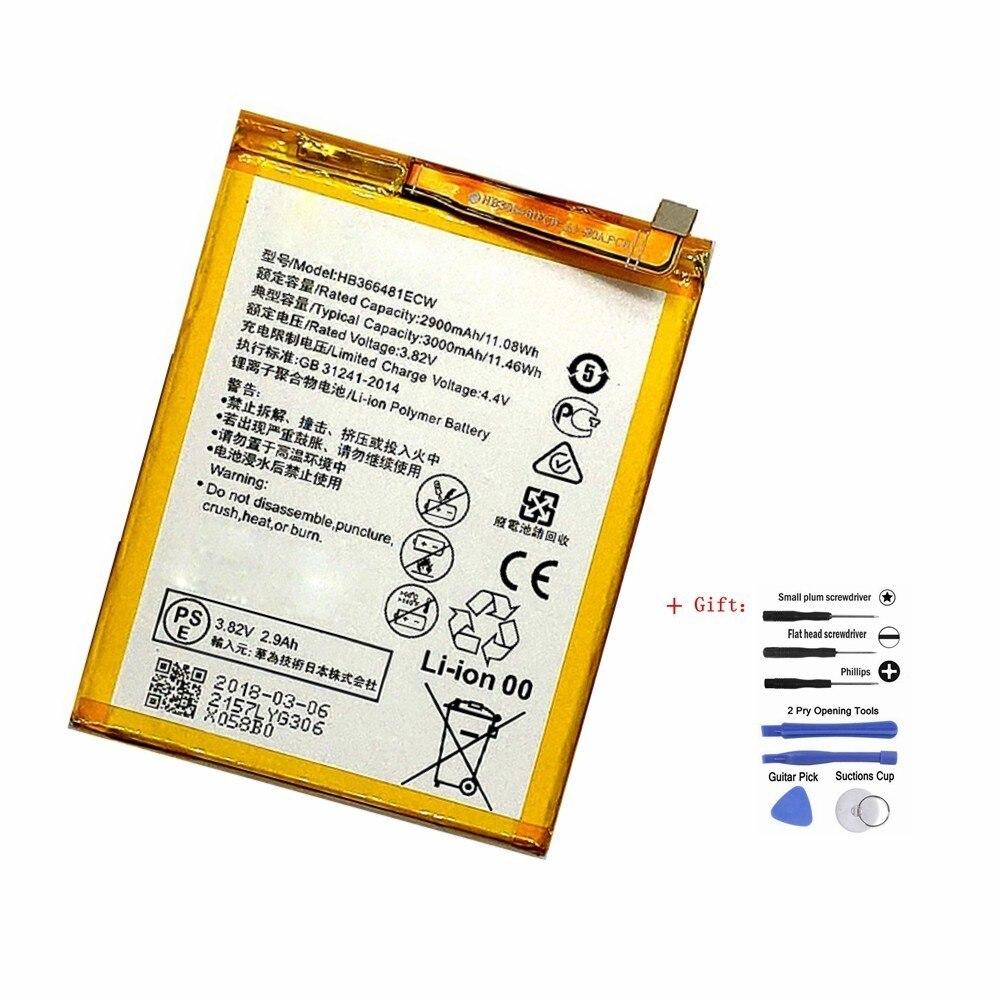 Suqy HB366481ECW Batterie Für Huawei P9 Ascend P9 Lite G9 honor 8/5C/8 lite G9 Lite P10 Lite wiederaufladbare Bateria Akkumulator
