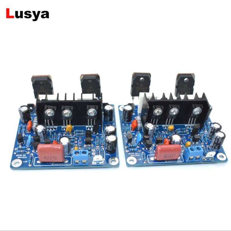 2pcs Hifi Mx50 Se 2.0 Dual Channel 100w+ 100w Stereo Power Amplifier Diy Kit And Finished Board Excellent Quality