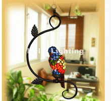 Newly Single and Double Novelty Bird Pendant Child Bedroom Parrot Lamps for Balcony Home Decoration AC E27 100% Guaranteed