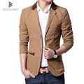 Plus Size XXXXXXL Spring Formal Dress Blazers Men Solid Slim Fit V-neck Mens Blazer Jacket Casual Social Business Suit Jackets
