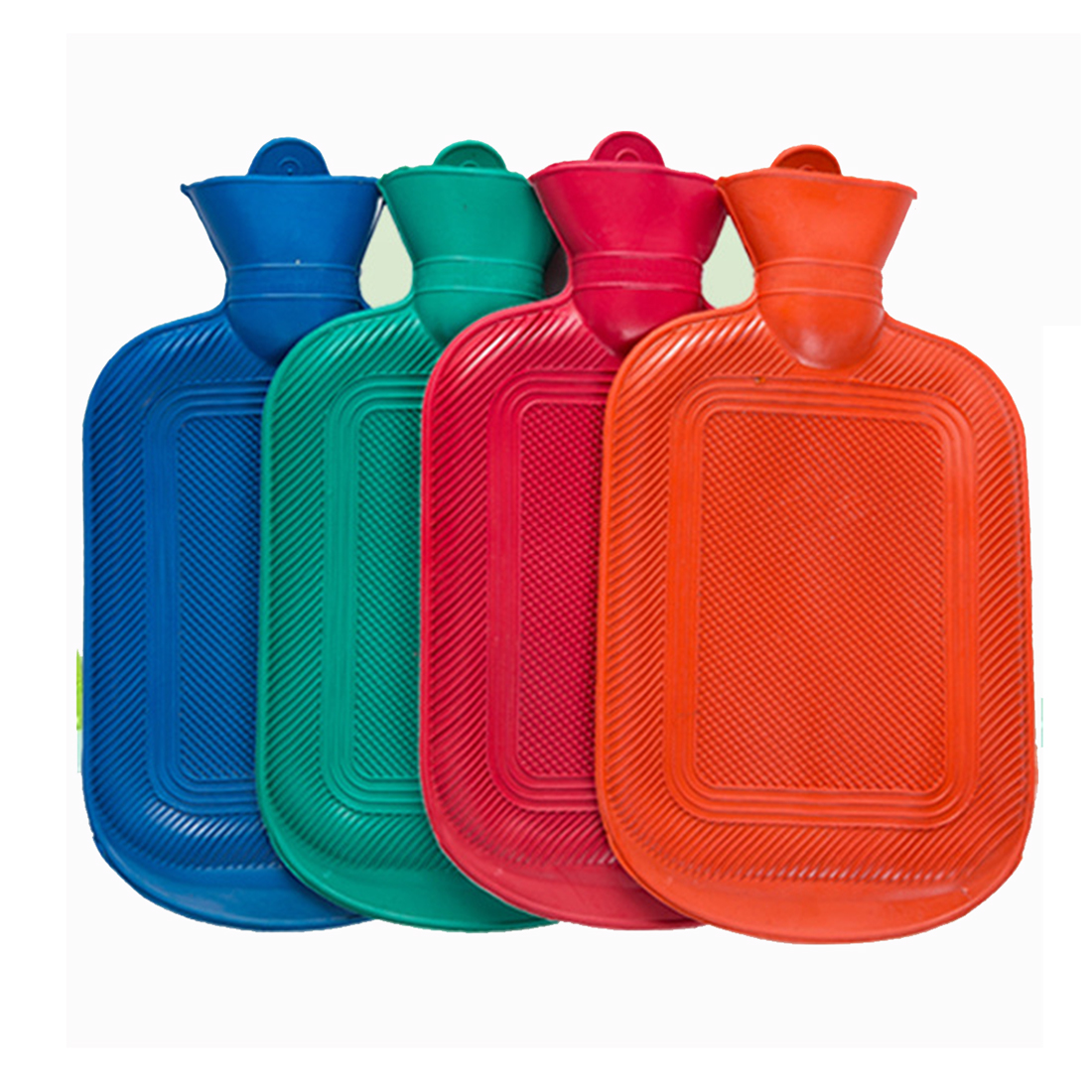 New Water Bottle Thick High Density Rubber Bag Hand Warming Water Bottles Winter Hot Water Bags Bottle random color ...