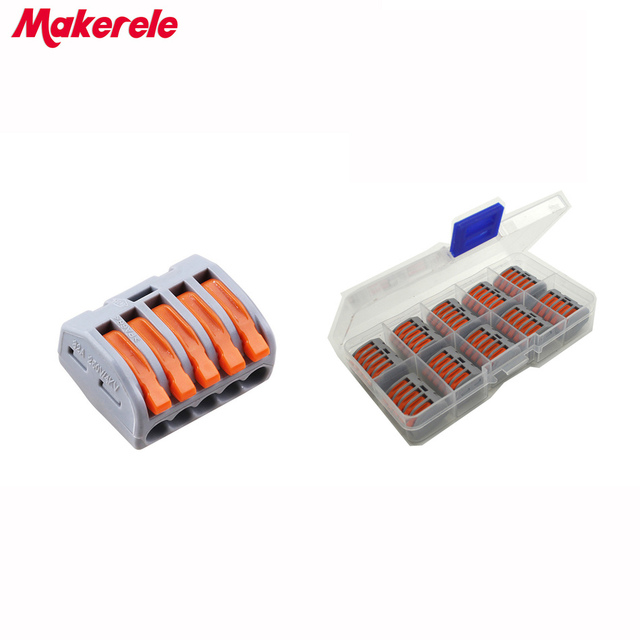 Fast Wire | Makerele 10pcs Universal Compact Fast Wire Wiring Connector 5 Pin