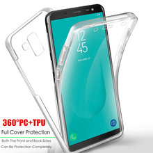 Clear 360 Volledige Shockproof Case voor Samsung Galaxy A10 A20 A20E A30 A40 A50 A60 A70 A80 M10 M20 M30 a6 A8 Plus A7 2018 Behuizing(China)