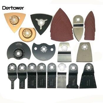 цена на Popular 66 Pcs Oscillating Tool Saw Blades For Renovator Power Tools As Fein Multimaster Dremel Electric Tools Accessories
