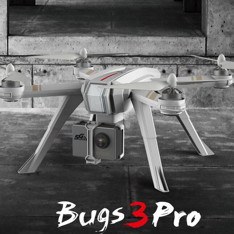 MJX B3 PRO RC Drone Quadcopter Double GPS Suivre Me Mode Un-clé Auto Retour Brushless Moteur Peut Soulever gopro Sjcam C6000 Caméra