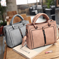 Women Messenger Shoulder Bag Big PU Leather Bag Female Luxury Black Handbag Lady Tote Crossbody Bag sac a main femme de marque