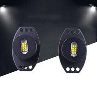 2PCS DC 12V Car LED Angel Eye Marker Light For BMW E90 Accessories 80W 5500LM