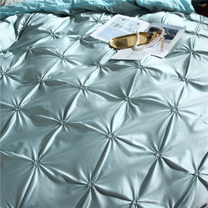 Image 3 - LOVINSUNSHINE Bedding Set Duvet Cover Comforter Flower Bed Linen US King Size Silk Duvet Cover Set AN01#