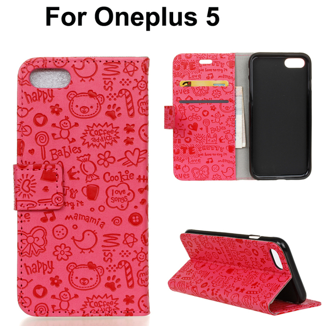 new arrivals 51be9 b10b4 US $2.28 5% OFF|For Oneplus 5 cell phone leather wallet case,for Oneplus 5  OnePlus5 Sweety magic girl pu leather stand cover shell-in Wallet Cases ...