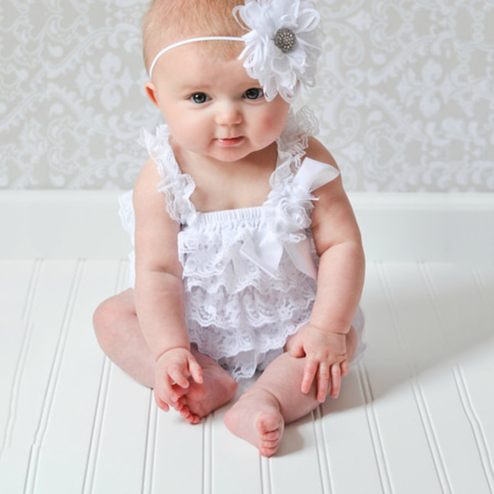 Clearance Lace Ruffle Baby Clothes Straps Ribbon Bow Baby Rompers Colorful Baby Costume Toddler Girls Fashion Romper kids ruffle tie neck striped romper