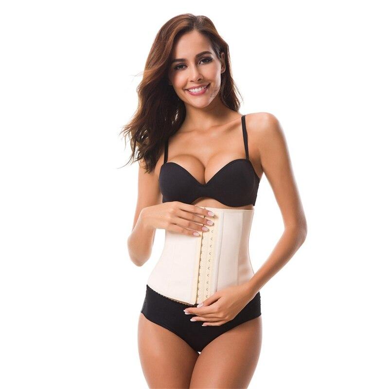 60fd66144d7 2019 9 Steel Boned Nice Latex Corset Sexy Women Body Shaper Tummy ...