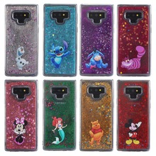 Cairan Air Case untuk Samsung Galaxy Note 9 S9 S9Plus S7 S7edge S8 S8Plus  Note 8 Mickey Minnie Mouse putri Duyung Quicksand Cove. 9f5c9d752b