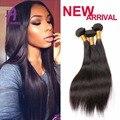 3 Bundles Peruvian Virgin Hair Straight Human Hair Straight Bundles Deals 7A Peruvian Straight Hair Weave Peruvian Virgin Hair