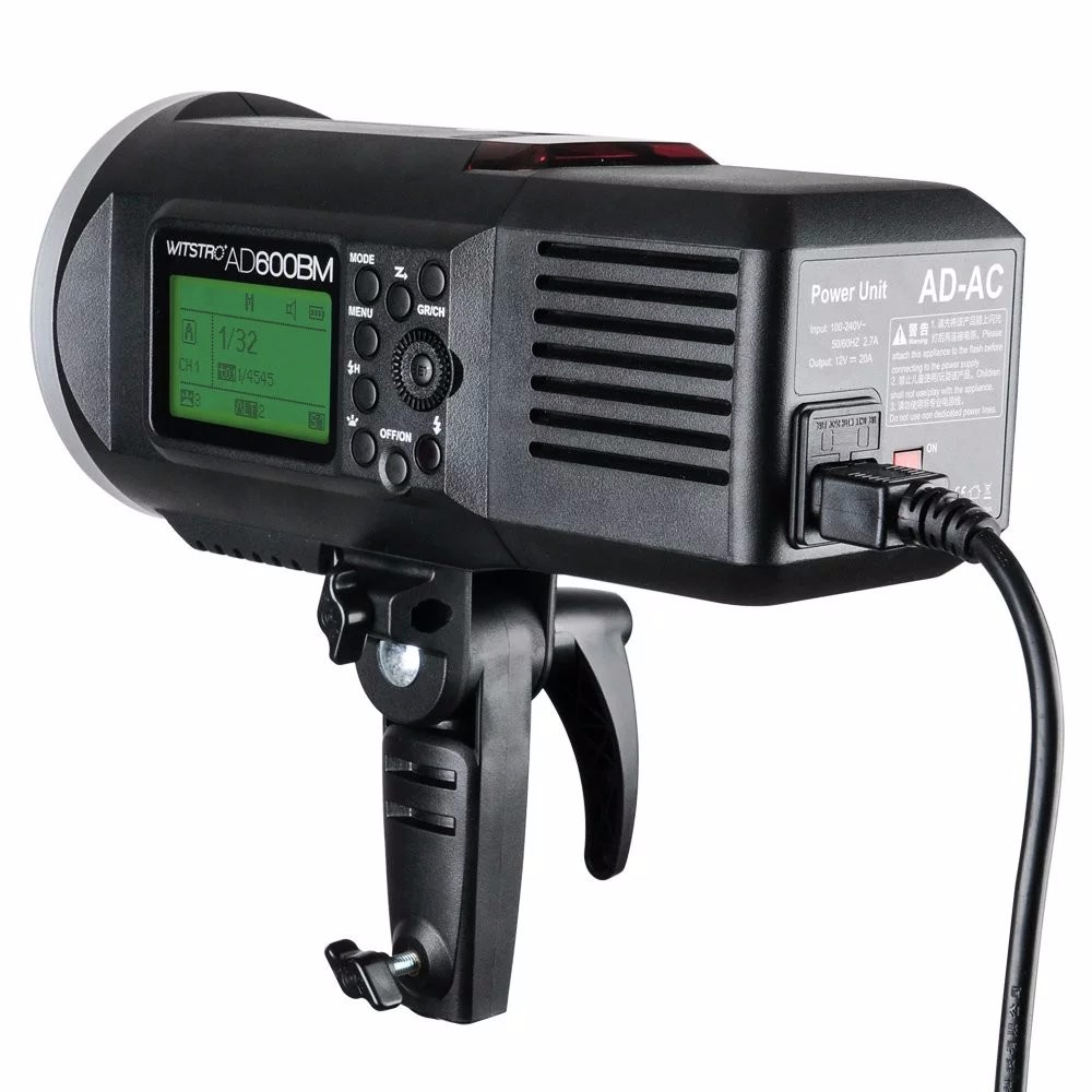 Godox AD600 AD-AC 100-240V Power Source Adapter with Cable for AD600B AD600BM AD600M AD600 godox ad600 ad ac 100 240v power source adapter with cable for ad600b ad600bm ad600m ad600 with led video light lighting lamp