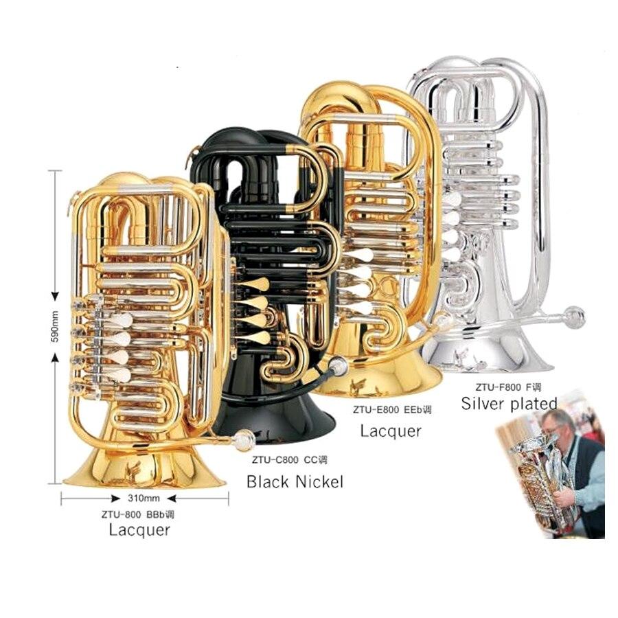 """EEb ключ путешествия туба 5 кг колокольчик 12,"""" Высота 32,3"""" желтый Латунь Мини туба Музыкальные инструменты профессиональный"""
