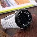 ¡ Caliente! Relojes deportivos Para la Salud MenUnisex Moda Correa de Gel de Sílice de Lujo Digital Watchhot Deporte de la Muñeca! calidad