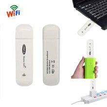 3G Mobile Wifi Hotspot Car USB Modem 7.2Mbs Universal Broadband Mini Wi fi Routers Mifi Dongle with SIM Card Slot