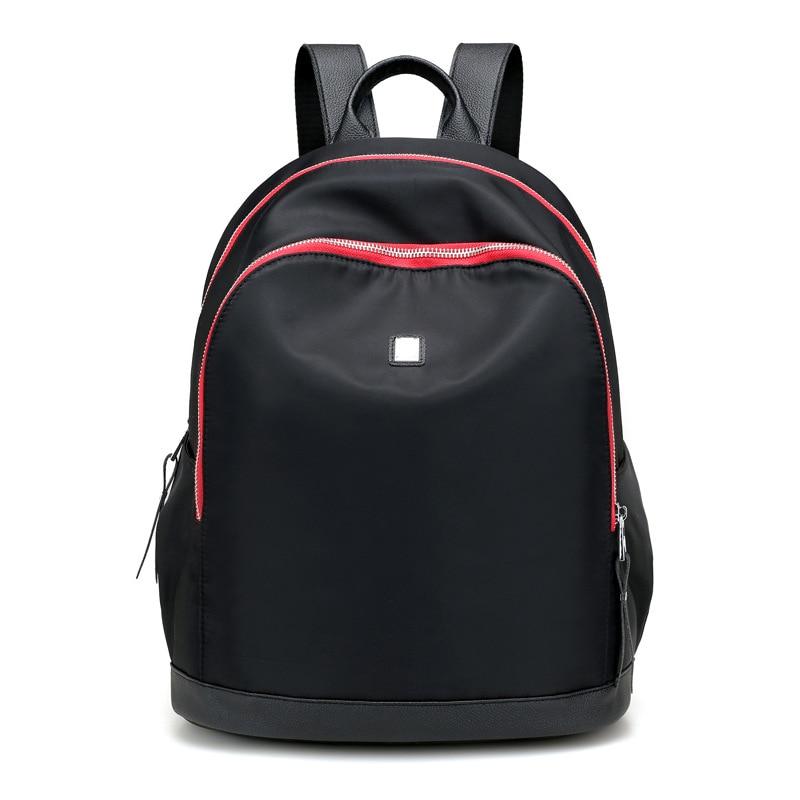 Uudet naisten reppu vedenpitävä nylon naisten rento opiskelija reppu koululaukku pussia koululaukku Mochila Feminina