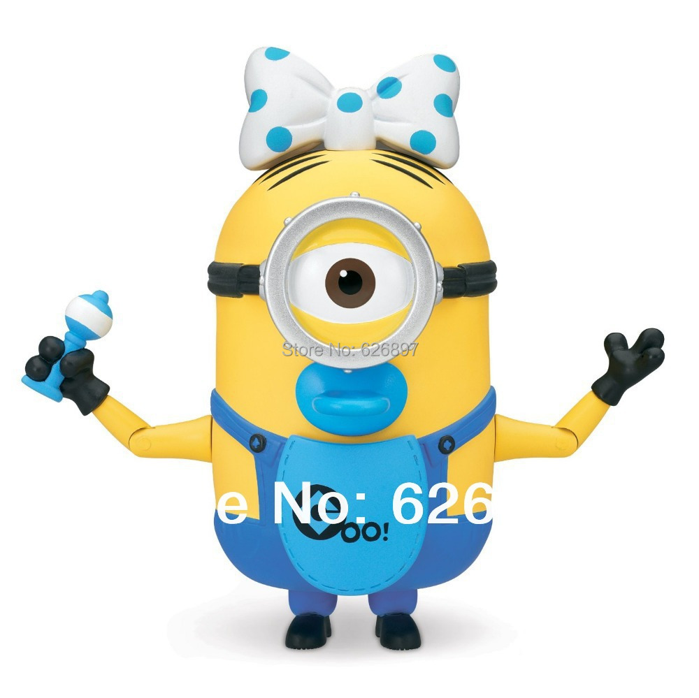 free shipping original minion build a minion baby carl deluxe toys for children kid