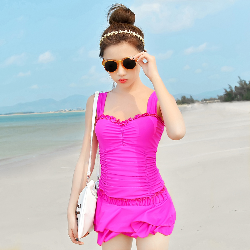 2016 New Hot Sale Womens Girl Sexy Swimwear One Piece Swimsuit Female Swimming Suits -4560