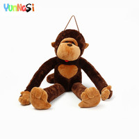 YunNasi 80cm Big Monkey Animal Dolls Orangutan Plush Toys Soft Pillow Stuffed Gorilla Birthday Valentine Gift Girls Kids Toys