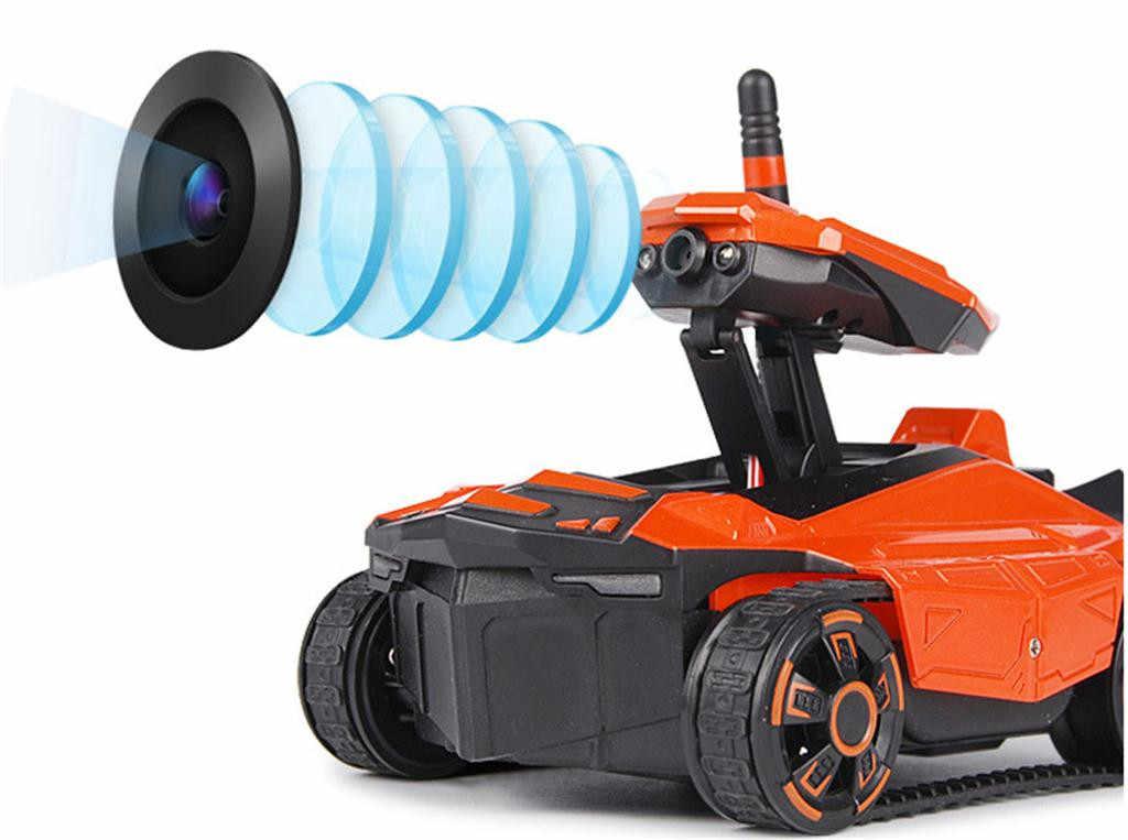 Автомобиль с дистанционным управлением для детей, Wi-Fi, стрельба, Радиоуправляемый танк, автомобиль, игрушка с Hd камерой, с пультом дистанционного управления, подарок, высокое качество, детские игры