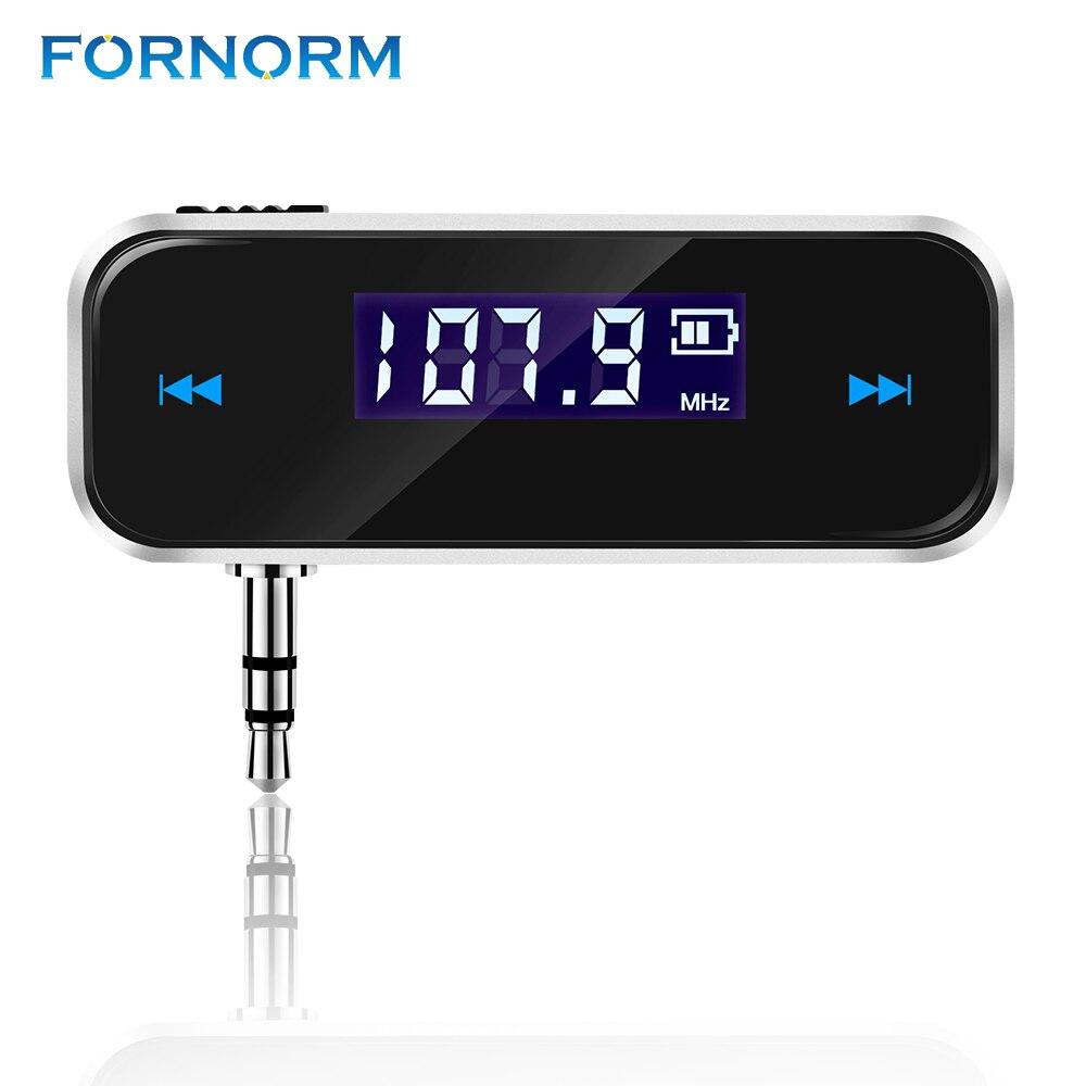 Energisch Fornorm Drahtlose 3,5mm Transmitter Musik Audio Lcd Diaplay Freisprecheinrichtung Für Iphone Ipod Samsung Mobiltelefone Mp3 Mp4 Player Tablet Unterhaltungselektronik