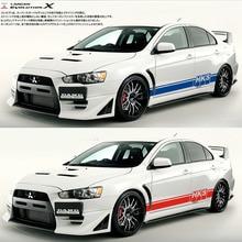 цена на TAIYAO car styling sport car sticker for Mitsubishi Lancer Evolution EVO X Pajero Outlander Zinger Eclipse