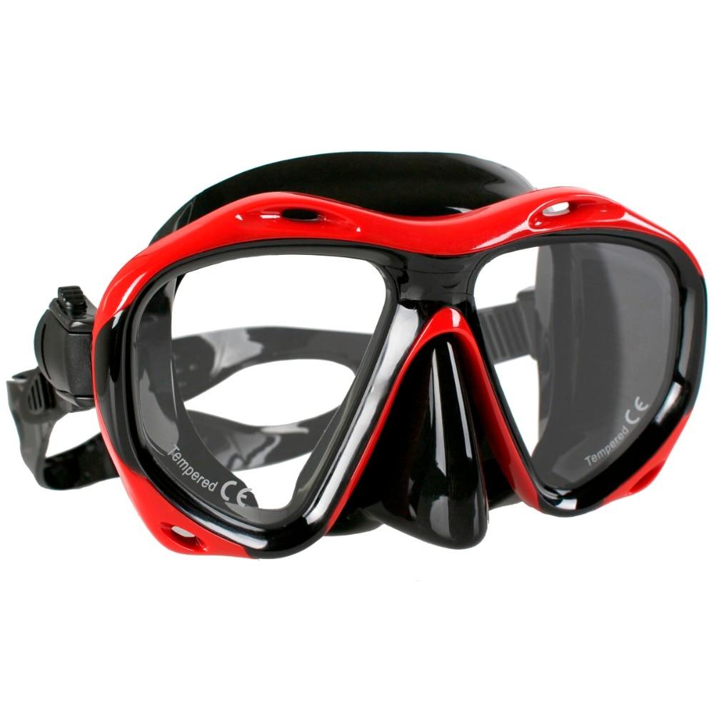 Copozz Brand Professional Skuba Diving Mask Goggles Watersports Snorkel Equipment Underwater Hunting Mask Presbyopia Myopia Lens