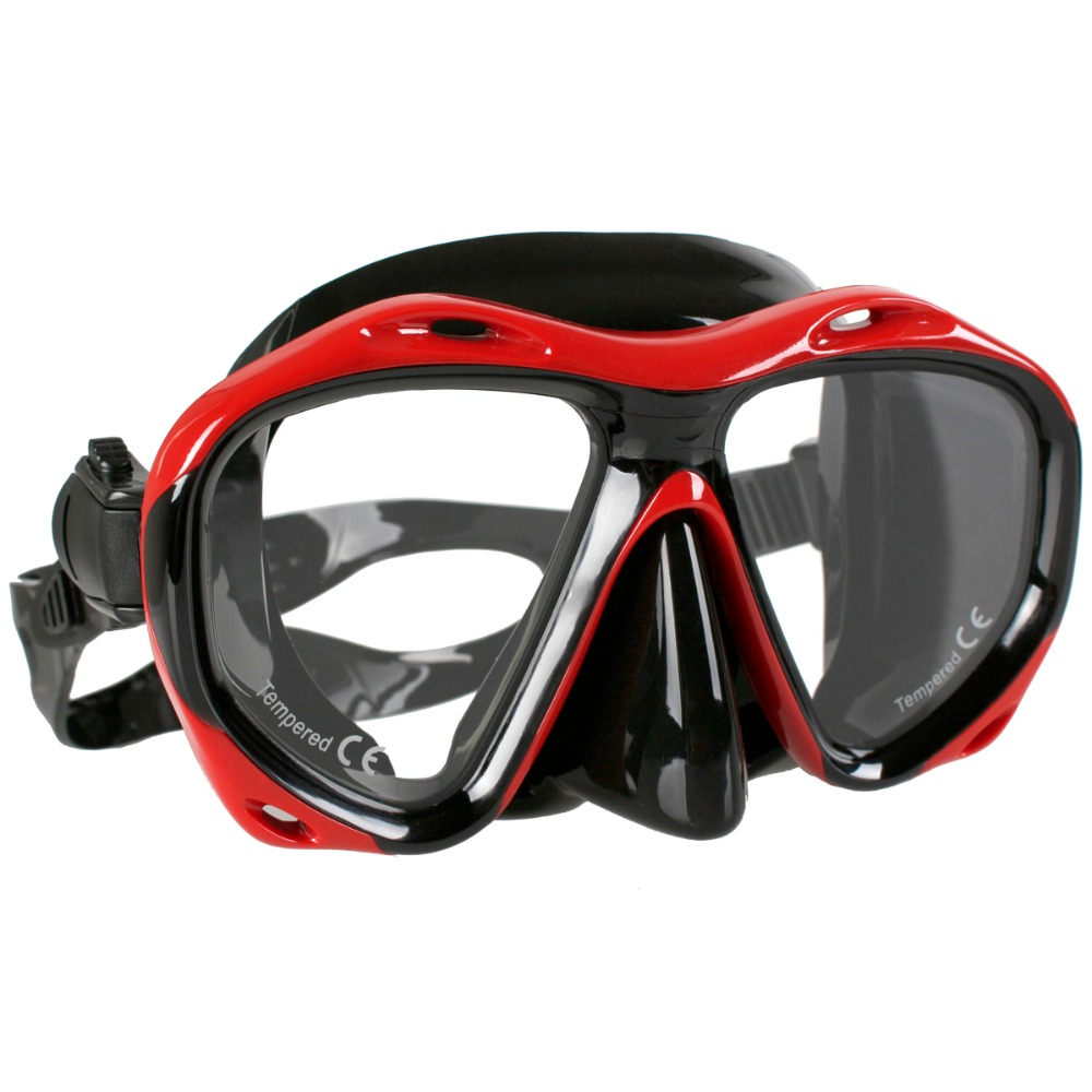 Copozz Brand Professional Skuba Diving Mask Goggles Watersports Snorkel Equipment Underwater Hunting Mask Presbyopia Myopia Lens