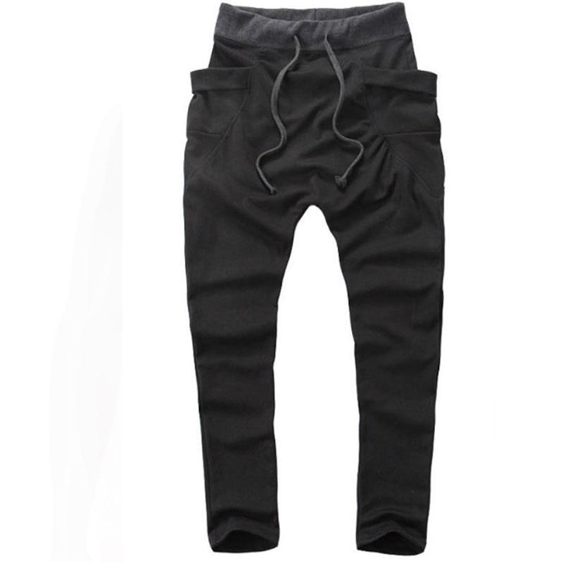 رجل ركض 2018 pantalon homme رجل بنطلون mallas hombre جيوب كبيرة