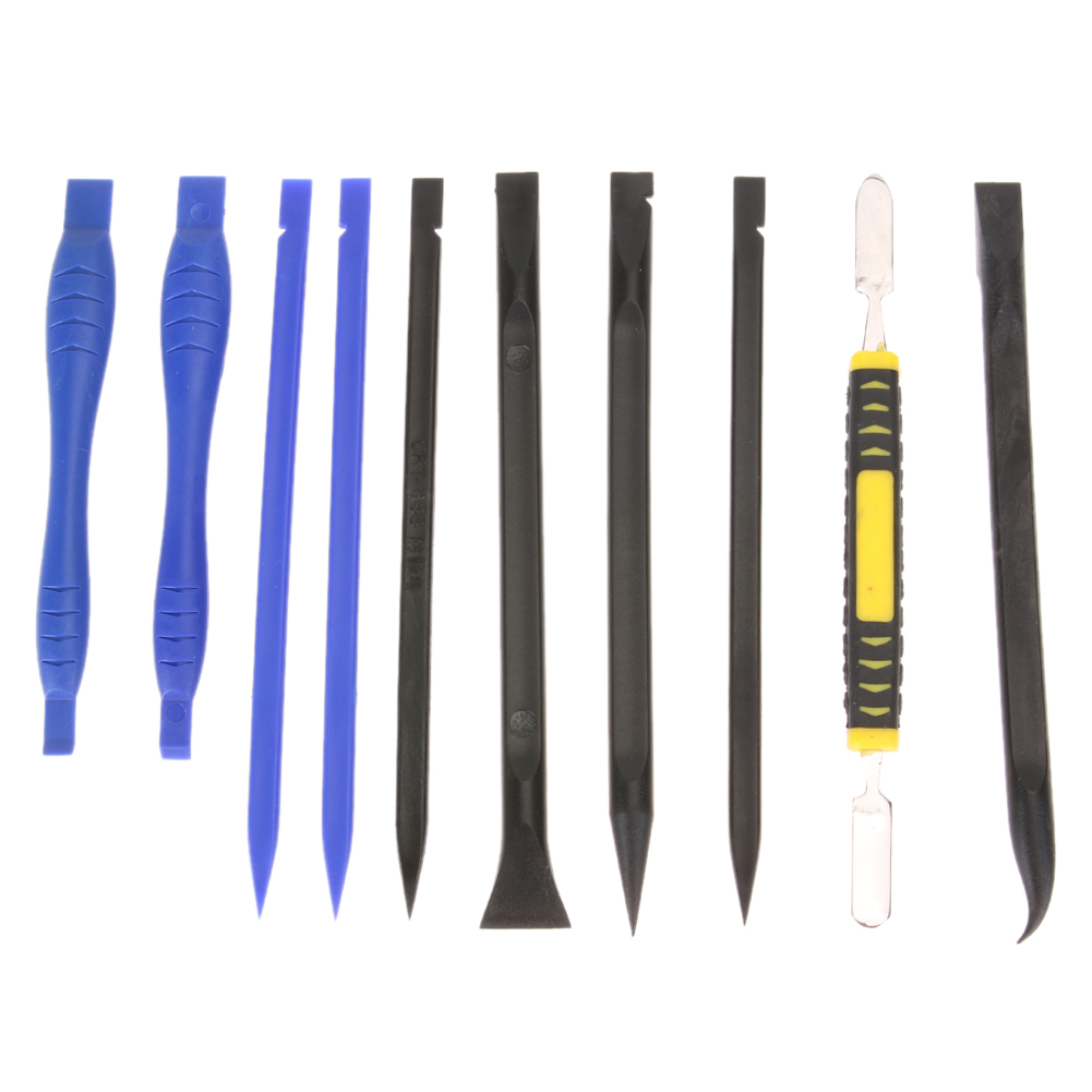 10pcs/set Mobile Phone Repair Tool Kits Electronic Products Metal Spudger Pry Opening Disassemble Hand Tools Set
