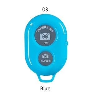 Image 5 - Bluetooth אלחוטי מרחוק תריס מצלמה טלפון חדרגל Selfie מקל תריס עצמי טיימר עבור IOS אנדרואיד אקראי