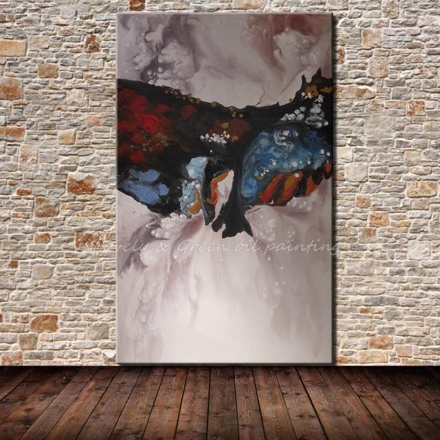 Hand-painted Modern Home Decor Wall Art Picture Hand Made Abstract Oil Painting On Canvas Wall Decor For Living Room No Frame