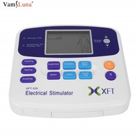 Electrical Stimulator Massager Dual Tens Machine Digital Massage Muscle Body Relaxation With Electrode Pad And Acupuncture Pen