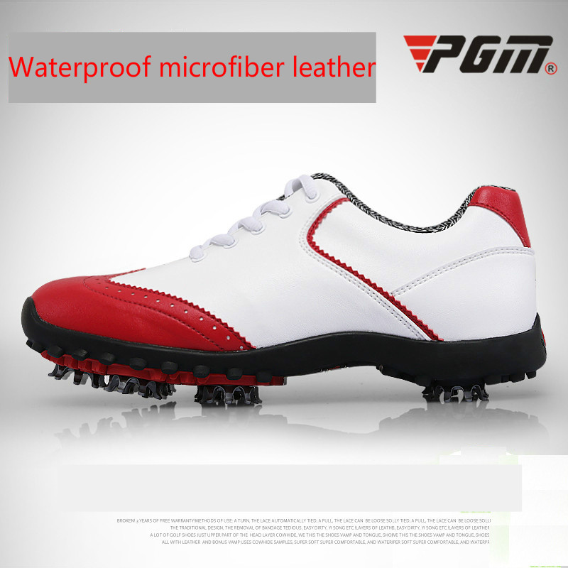 2018 Counter genuine PGM ladies golf shoes sports shoes  no spikes breathable waterproof shoes for women
