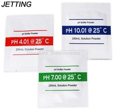 3 Bags H Buffer Solution Powder for PH Test Meter Measure Calibration 4.01 7.00 10.01