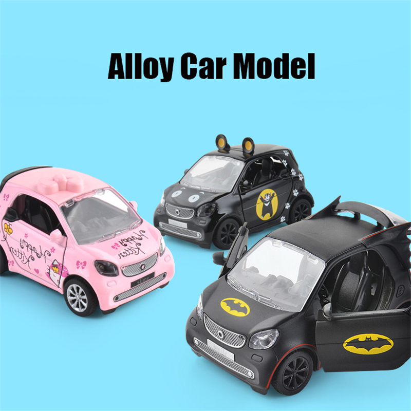 Batman Smart Alloy Car Model Childrens Acousto-optic Recoil Car Model With Lights Toy Car Toys & Hobbies