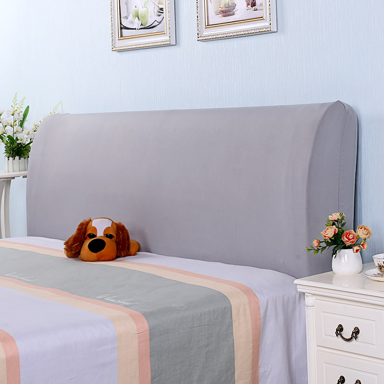 JaneYU Elastic Fabric All Inclusive Bedside Covers Bedside Covers Backrest Covers Leather Beds Soft Bags Cover