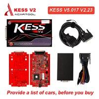 KESS V2 V5.017 SW V2.47/KTAG V7.020 K TAG Manager Tuning Kit BDM Frame ECU Chip Tuning Tool Programmer Car Diagnostic Tool