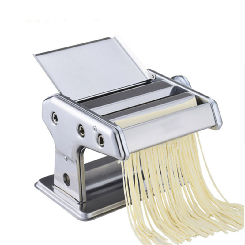 Stainless Steel ordinary 2 Blades Noodle Making Machine Manual  Pasta Maker Hand Operated Spaghetti Pasta Cutter Noodle набор для кухни pasta grande 1126804