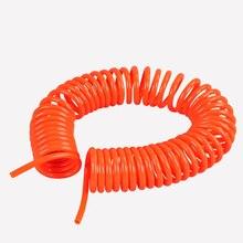 3M/6M/9M Spiral Tube Flexible for Air Compressor  8mm x 5mm  Input PU Hose Air Pneumatic Tool pu air tubing hose 6 5mm x 10mm flexible fuel gas line pneumatic tube clear 7m