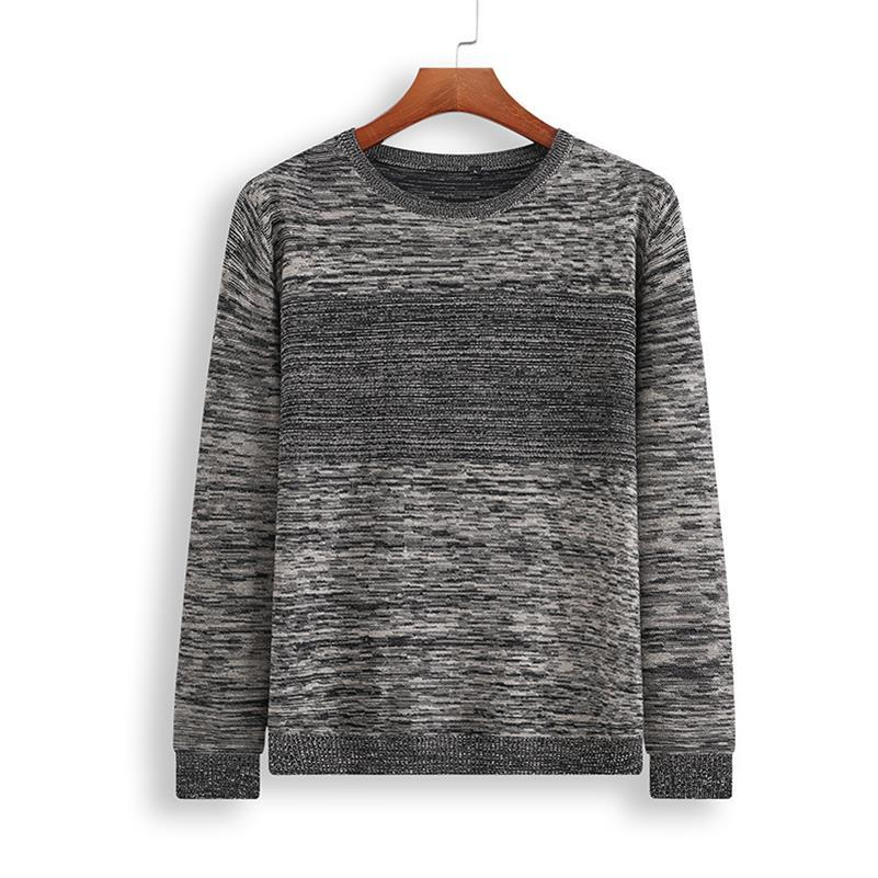 8XL 7XL 6XL O-Neck Sweater Men Clothing Mens Sweaters Wool Cashmere pullover Men Brand Pull Homme Casual Dress Long Sleeve Shir