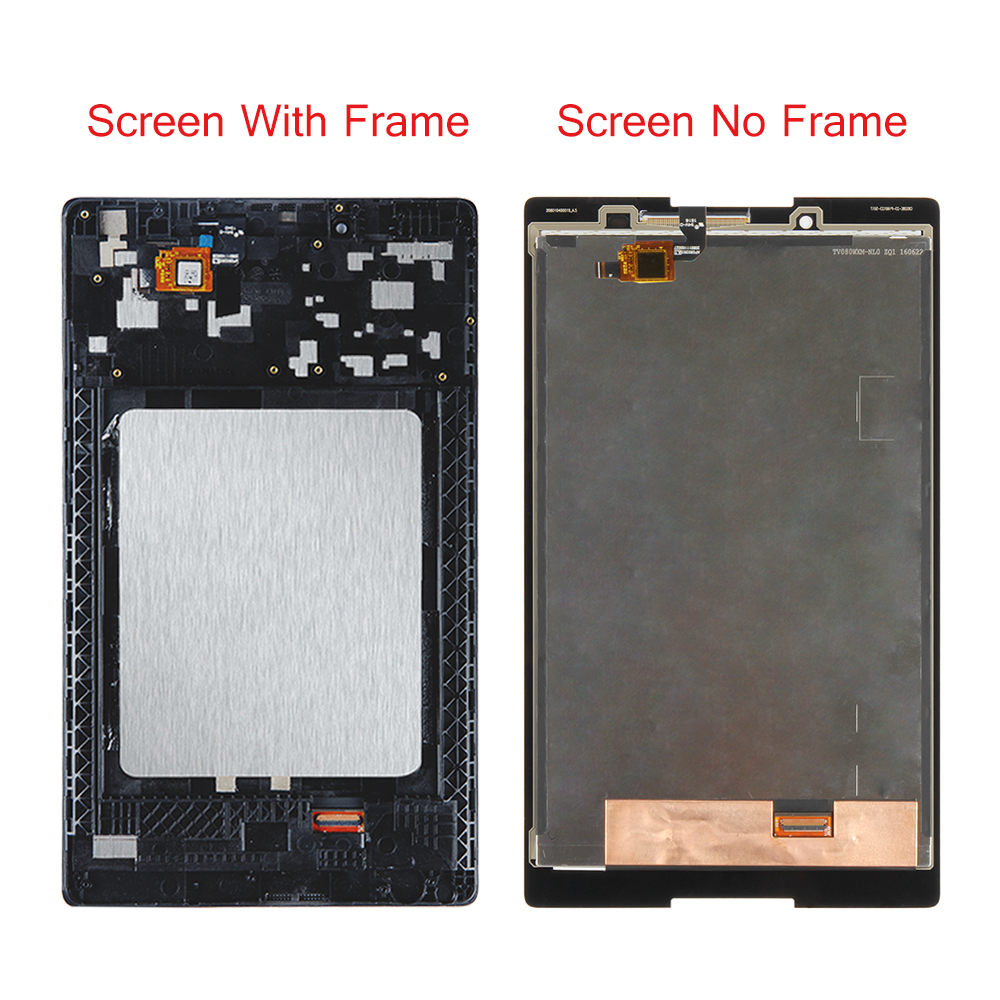US $20 2 20% OFF|For Lenovo Tab 2 A8 50F A8 50LC A8 50 Touch Screen  Digitizer+ LCD Display Assembly Parts with Frame Replace Panel 100%  Tested-in