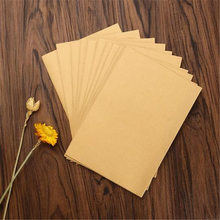 Coloffice 10PCs/lot New 3 Colors Envelope Kraft Paper Bags Collect Files Use As Gift Love Letter Packaging High Quality 16*11cm