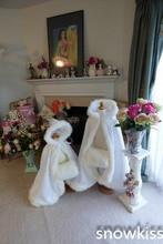 Hooded Long Floor Length Cape Ivory White Wedding Cloaks Faux Fur Jacket For Winter Kid Flower