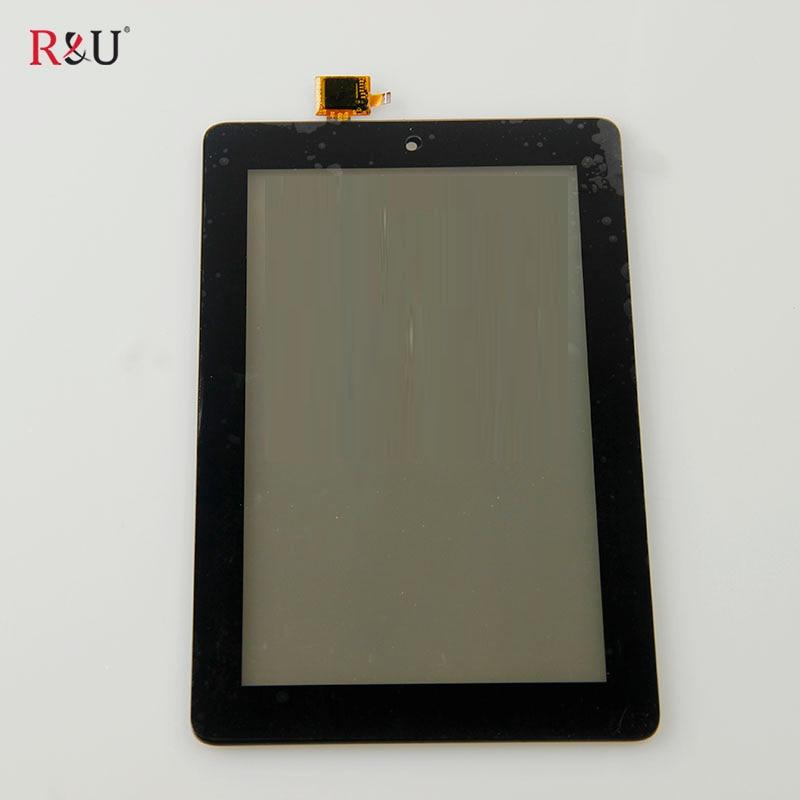 10 шт. 7 дюймов спереди Сенсорный экран Панель планшета Сенсор внешний Стекло запасные части для Amazon Kindle Fire 2015 HD5 HD 5 sv98l