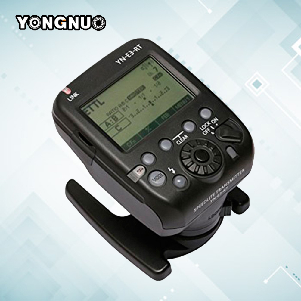 Yongnuo YN-E3-RT TTL Radio Trigger Speedlite Speedlight Wireless Transmitter as ST-E3-RT for Canon 600EX-RT YONGNUO YN600EX-RT mcoplus mt e3 rt ttl radio trigger speedlite transmitter for canon 600ex rt as st e3 rt vs yn e3 rt